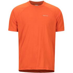 Marmot Accelerate SS Shirt Men orange haze heather